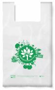Биоразградима торбичка тип ПОТНИК, 43 х 50 см, 50 бр.