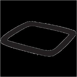 Rubbermaid Допълнителна тежест Weght Ring (Single), Black for 2570