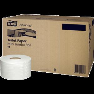 Тоалетна хартия на ролка T-Tork Mini Basic