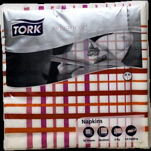 Салфетки за маса Tork Terrakotta, IceBlue