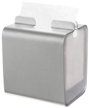 Tork Луксозен дозатор за салфетки за блок маса, алуминиев/дървен Xpressnap® Tabletop N4