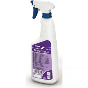 ECOLAB Дезинфекционно почистващо средство за повърхности, предмети и уреди в кухни, Sirafan speed