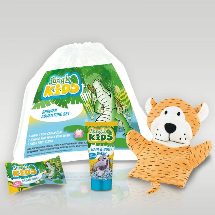 Kids Safari Bathroom Set: Сканклийн ЕООД: ADA Подаръчен комплект Jungle Kids Shower