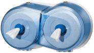 Tork Двоен дозатор за т. хартия с централно изтеляне SmartOne® Twin Mini  Toilet Roll Dispenser – system T9