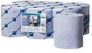 Tork Домакинска хартиена ролка синя Reflex Wiping Paper Plus Blue – system M4