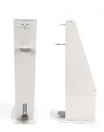 TTS Дозатор – стойка с педал за дезинфектант за ръце