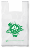 Биоразградима торбичка тип ПОТНИК, 34 х 40 см, 50 бр.