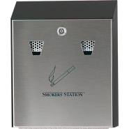 Rubbermaid Пепелник SMOKERS STATION BLACK
