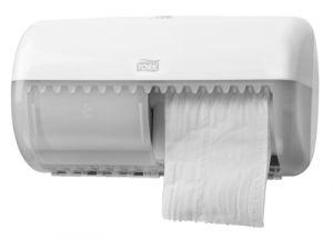 Tork Двойна кутия за т. хартия на ролка Dispenser Toilet Paper Roll Twin – system T4