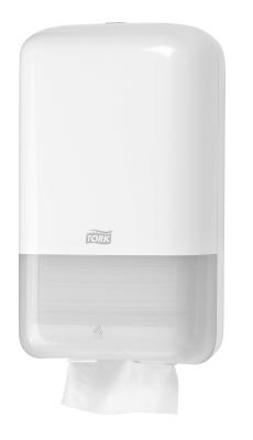 Tork Дозатор за тоалетна хартия на салфетки Dispenser Toilet Paper Folded – system T3