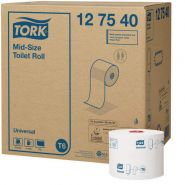 Tork Тоалетна хартия на ролка Mid-Size Toilet Roll– system T6