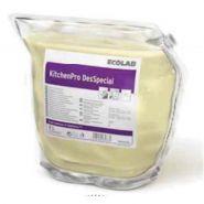 ECOLAB Почистващ и дезинфекциращ препарат за повърхности и оборудване в зони за приготвяне на храна KitchenPro DesSpecial, 2 л