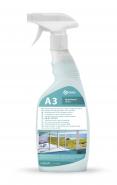 GRASS Почистващ препарат за стъкла, огледала и плочки A3, 600 мл