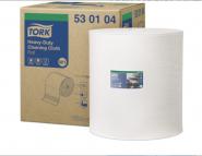 Tork Индустриална харти  Heavy-Duty, system W1, бял, 1 x 270 м