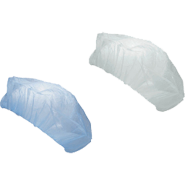 Боне за еднократна употреба бяло, 100 бр.