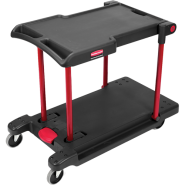 Rubbermaid Количка три позиции Convertible Utility cart