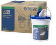 Tork Кофичка с мокри кърпи за ръце Premium Wet Wipe Hand Cleaning – system W14